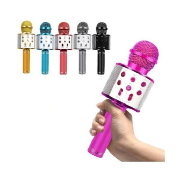 Karaoke mikrofon bluetooth sa zvučnikom WS-858