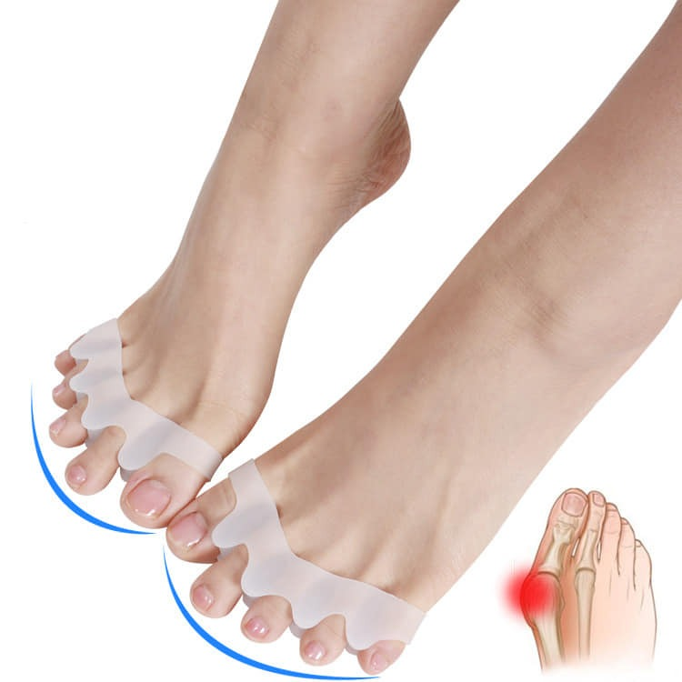 Silikonski separator korektor prstiju za noge